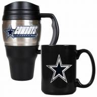 Dallas Cowboys Travel Mug & Coffee Mug Set