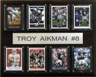 "Dallas Cowboys Troy Aikman 12"" x 15"" Card Plaque"