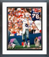Dallas Cowboys Troy Aikman Super Bowl XXVII 1993 Framed Photo