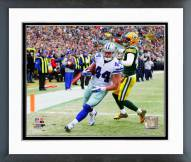 Dallas Cowboys Tyler Clutts Touchdown Catch 2014 Playoff Action Framed Photo