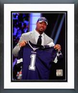 Dallas Cowboys Tyron Smith 2011 NFL Draft #9 Pick Framed Photo