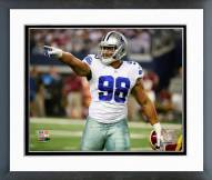 Dallas Cowboys Tyrone Crawford 2014 Action Framed Photo