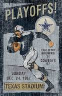 Dallas Cowboys Vintage Wall Art