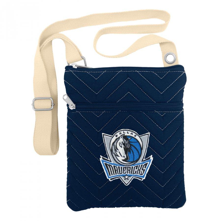 Dallas Mavericks Chevron Stitch Crossbody Bag