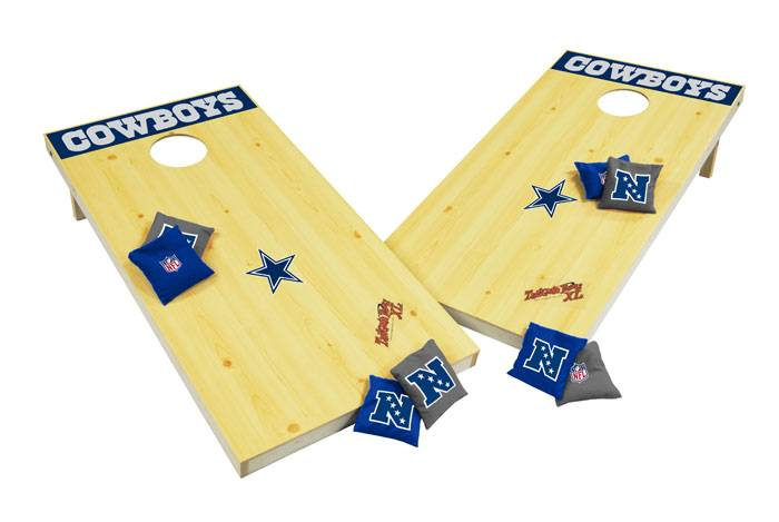 the dallas cowboys nfl xl bean bag toss corn hole game is the new regulation sized bean bag toss game this extralarge sized toss game is made of all wood - Bean Bag Toss Game