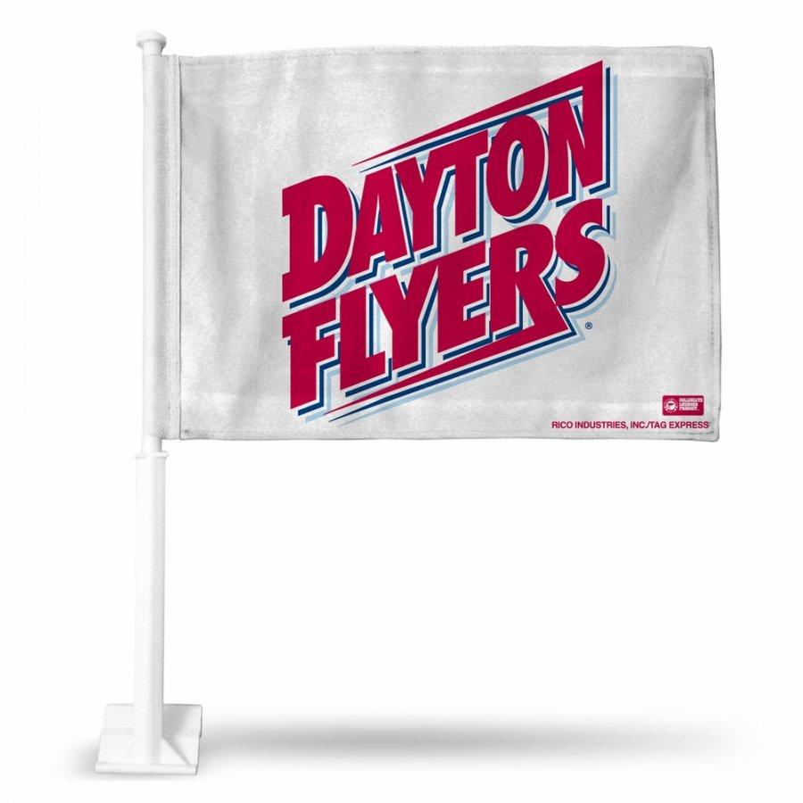 Dayton Flyers College Car Flag