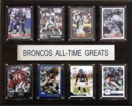 "Denver Broncos 12"" x 15"" All-Time Greats Plaque"