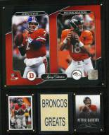 "Denver Broncos 12"" x 15"" Legacy Collection Plaque"