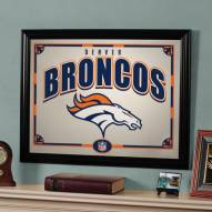 "Denver Broncos 23"" x 18"" Mirror"