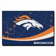 "Denver Broncos 39"" x 59"" Area Rug"