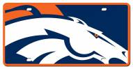 Denver Broncos Acrylic Mega License Plate