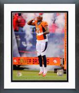 Denver Broncos Aqib Talib 2014 Action Framed Photo