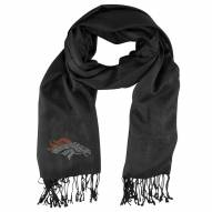 Denver Broncos Black Pashi Fan Scarf