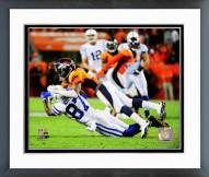 Denver Broncos Bradley Roby 2014 Action Framed Photo