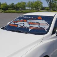 Denver Broncos Car Sun Shade