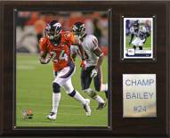 "Denver Broncos Champ Bailey 12 x 15"" Player Plaque"
