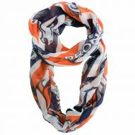Denver Broncos Chevron Sheer Infinity Scarf