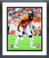 Denver Broncos Chris Harris 2014 Action Framed Photo