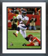 Denver Broncos C.J. Anderson 2014 Action Framed Photo