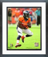 Denver Broncos C.J. Anderson 2015 Action Framed Photo