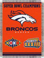 Denver Broncos Commemorative Throw Blanket