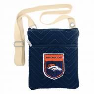 Denver Broncos Crest Chevron Crossbody Bag