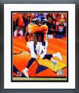 Denver Broncos DeMarcus Ware & Von Miller 2014 Action Framed Photo
