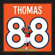 Denver Broncos Demaryius Thomas Uniframe Framed Jersey Photo