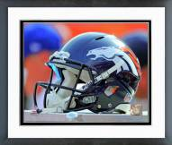 Denver Broncos Denver Broncos Helmet Framed Photo