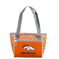 Denver Broncos Double Diamond Cooler Tote