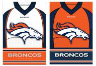 Denver Broncos Double Sided Jersey Flag