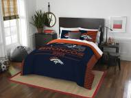 Denver Broncos Draft Full/Queen Comforter Set