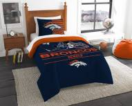 Denver Broncos Draft Twin Comforter Set