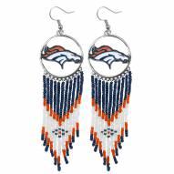 Denver Broncos Dreamcatcher Earrings