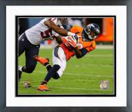 Denver Broncos Emmanuel Sanders 2014 Action Framed Photo