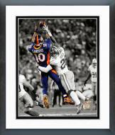 Denver Broncos Emmanuel Sanders 2014 Spotlight Action Framed Photo