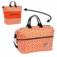 Denver Broncos Expandable Tote Bag