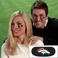 Denver Broncos Eye Black Strips