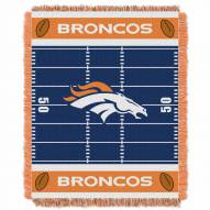 Denver Broncos Field Baby Blanket
