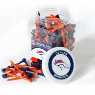 Denver Broncos 175 Golf Tee Jar