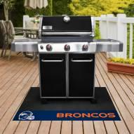 Denver Broncos Grill Mat