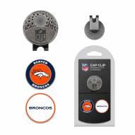 Denver Broncos Hat Clip & Marker Set