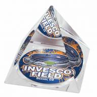 Denver Broncos Invesco Field Crystal Pyramid