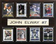"Denver Broncos John Elway 12"" x 15"" Card Plaque"