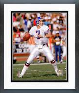 Denver Broncos John Elway 1988 Action Framed Photo