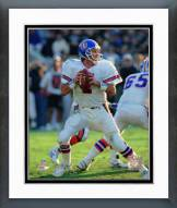 Denver Broncos John Elway 1993 Action Framed Photo