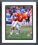 Denver Broncos John Elway Action Framed Photo