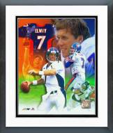 Denver Broncos John Elway Legends of the Game Composite Framed Photo