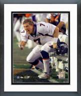 Denver Broncos John Elway Super Bowl XXXIII Framed Photo