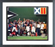 Denver Broncos John Elway TD Salute SB XXXII Framed Photo